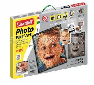 Пиксельная мозаика Любимое фото (14800 элементов) Quercetti