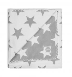 Плед  Stars 100 х 75 см, цвет: серый Jollein