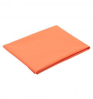Клеенка  с ПВХ покрытием, 1 шт, цвет: оранжевый Пома