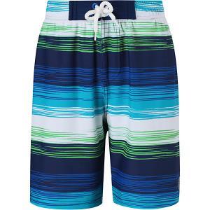Шорты купальные Biitzi  для мальчика Reima. Цвет: разноцветный