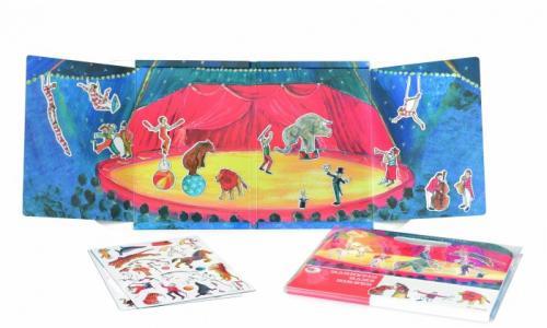 Магнитная игра Цирк Egmont