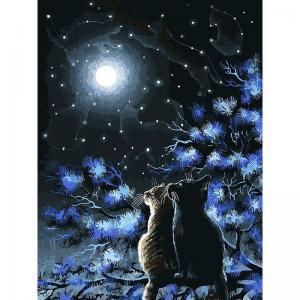 Живопись на подрамнике  Созвездия Белоснежка