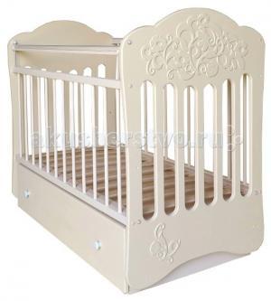 Детская кроватка  Виола маятник поперечный Островок уюта