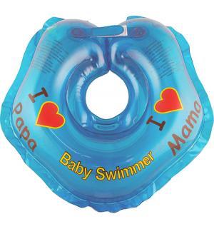 Круг на шею , цвет: голубой Baby Swimmer