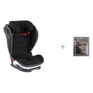 Автокресло  iZi Flex Fix i-Size и АвтоБра Защита спинки сиденья от грязных ног ребенка BeSafe