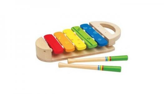 Музыкальный инструмент  Ксилофон Радуга Е0302 Hape