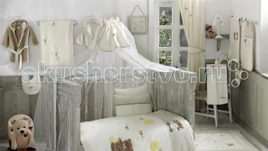 Балдахин для кроватки  Honey Bear Linen Kidboo