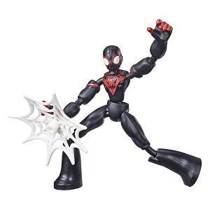Игровая фигурка Marvel Spider-Man Bend and Flex Майлз Моралез, 15 см Hasbro. Цвет: разноцветный