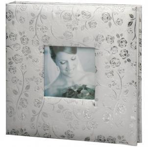 Фотоальбом свадебный 20 магнитных листов 30х32 см Brauberg