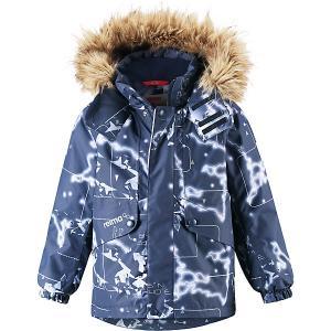 Утепленная куртка  Skaidi Reima. Цвет: темно-синий