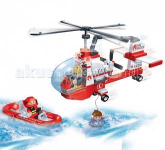 Конструктор  Спасательный вертолет 150 элементов BanBao