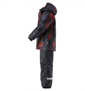 Комплект куртка/брюки , цвет: черный/оранжевый Lassie by Reima