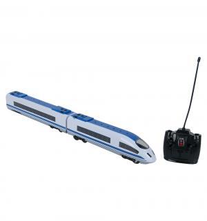 Поезд на радиоуправлении  бело-синий S+S Toys