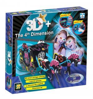 Набор для творчества 3D  Карета из бархата Diamant