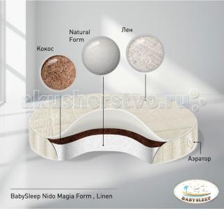 Матрас  Form Linen в колыбель 75x75 см Babysleep