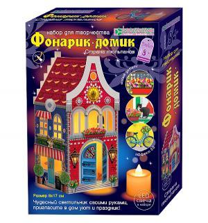 Набор для творчества  Фонарик-домик Страна тюльпанов Клевер