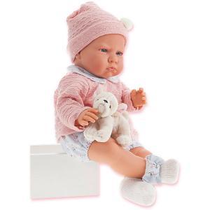 Кукла Бернардита в голубом,52 см, Munecas Antonio Juan. Цвет: pink/blau