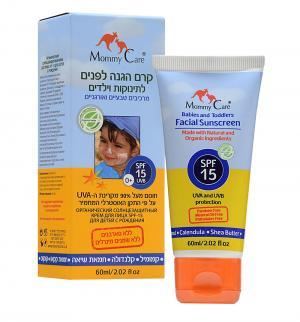 Крем для тела  Органический SPF15 Солнцезащитный Mommy Care