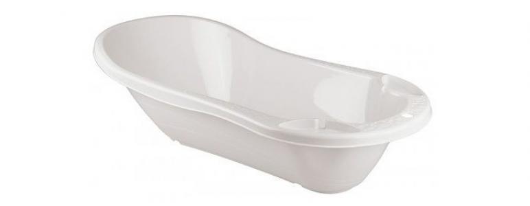 Ванна детская с клапаном для слива воды Пластишка
