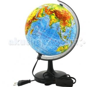 Глобус физический с подсветкой 20 см Rotondo
