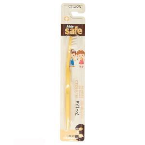 Зубная щетка  Kids Safe с серебряным покрытием №3, от 7 до 12 лет, цвет: желтый Lion