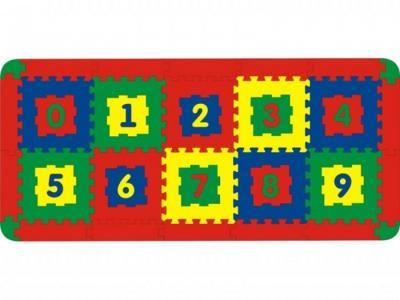 Игровой коврик  Напольный 10 деталей Тедико