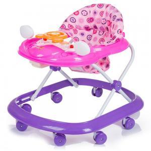 Ходунки  FIRST-STEP, цвет: темно-розовый BabyHit