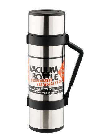 Термос со стальной колбой  для напитков NCB-12B Rocket Bottle, цвет: черный Thermos