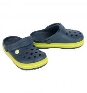 Сабо  Crocband Clog Kids, цвет: синий Crocs
