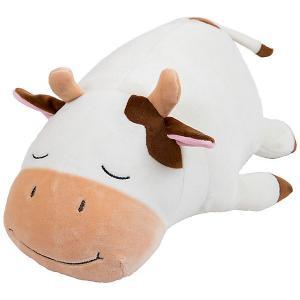 Мягая игрушка  Коровка, 29 см ABtoys. Цвет: белый