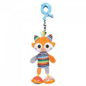 Подвесная игрушка  на прищепке Лисенок Фокс 36x12 см Biba Toys