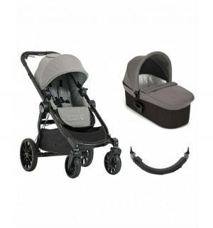 Коляска 2 в 1  City Select Lux + набор подарок, цвет: серый Baby Jogger