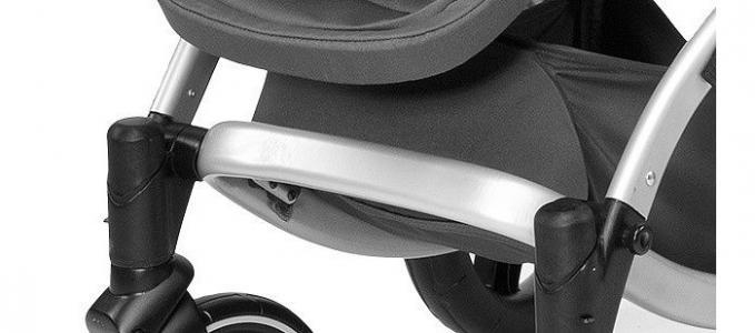 Шасси для сменных передних колёс к коляске Artic Chicco