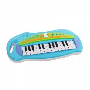 Музыкальный инструмент  Синтезатор Music Station 25 клавиш 652B-blue Potex