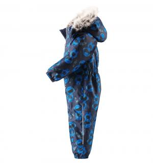 Комбинезон утепленный, цвет: синий/черный Lassie by Reima