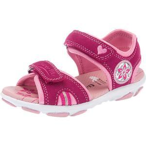 Босоножки для девочки SUPERFIT. Цвет: розовый