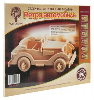 Сборная деревянная модель  Паккард малый Wooden Toys