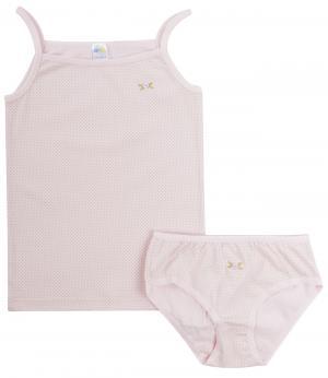 Комплект нижнего белья Olla. Цвет: розовый
