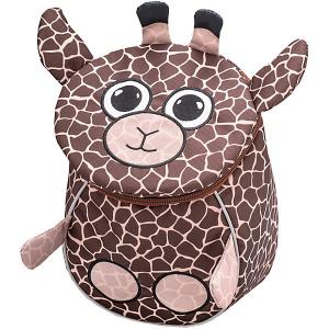 Рюкзак  Mini Animals Жирафенок Belmil. Цвет: коричневый
