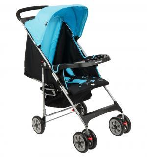 Прогулочная коляска  Happy Dino C5100, цвет: синий/черный Geoby