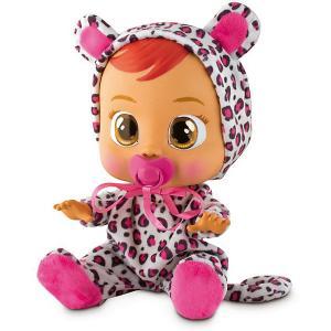 Плачущий младенец  «Crybabies» Лея IMC Toys. Цвет: розовый