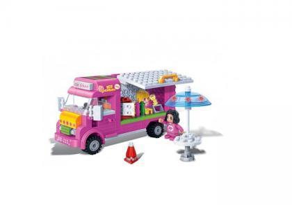 Конструктор  Машина с мороженым 223 детали BanBao