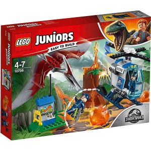 Конструктор  Juniors Jurassic World 10879: Побег птеранодона LEGO