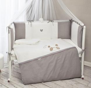 Комплект в кроватку  Прятки (6 предметов) Perina