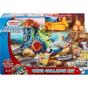 Игровой набор  Моторизованные паровозики Обвал в пещере, 49 см Thomas & Friends