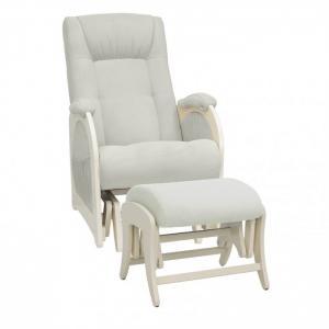 Кресло для мамы  Joy с пуфом Uni Дуб шампань Milli