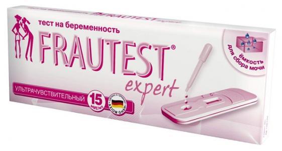 Тест для определения беременности  Expert, 1 шт Frautest
