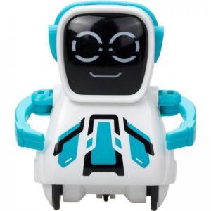 Интерактивный робот  Покибот 7.5 см цвет: голубой Silverlit