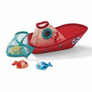Игрушка для ванной Рыбацкая лодка Lilliputiens