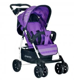 Прогулочная коляска  E-230, цвет: purple Everflo